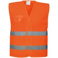 Warnschutz Netz Weste orange - Portwest®