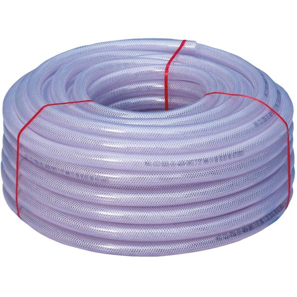 PVC-Gewebeschlauch 9/14 mm / 50m Rolle