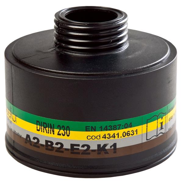 Mehrbereichsfilter ABEK2 - BLS®