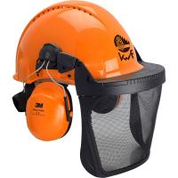 Forsthelm Kombination orange - Peltor®
