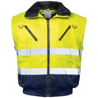 4in1 Warnschutz Pilotjacke GUNNAR gelb - NORWAY®