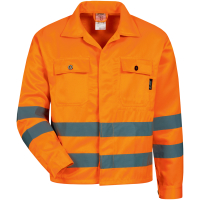 Warnschutz Jacke ALOIS orange - Safestyle®