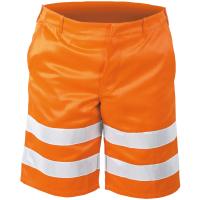 Warnschutz Shorts PETER orange - Safestyle®