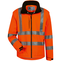 2in1 Warnschutz Softshell Jacke TYLER orange - Elysee®