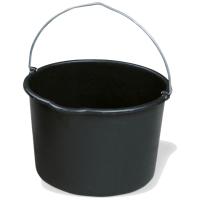 Baueimer schwarz 20l