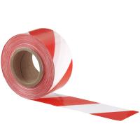 Absperrband 500 m rot/weiß