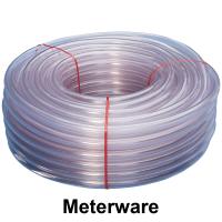 PVC-Schlauch glasklar 25/31 mm