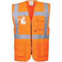 Warnschutz Weste Berlin orange - Portwest®