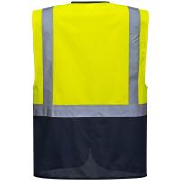 Warnschutz Weste WARSAW gelb - Portwest®