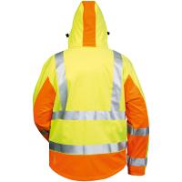 Warnschutz Softshell Jacke JIM gelb/orange - Elysee®