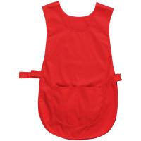 Überwurfschürze mit Tasche rot - Portwest®