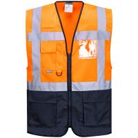Warnschutz Weste WARSAW orange - Portwest®