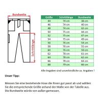 Feuerwehr Bundhose HuPF Teil 2  mit 2 Reflex (DGUV) -...