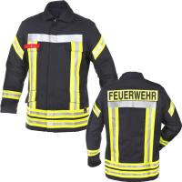Feuerwehr Einsatzjacke HuPF Teil 3 ALLGÄU mit Reflex (wie Überjacken) - Novotex-Isomat®