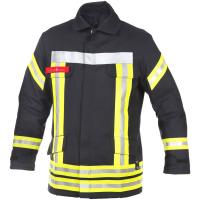 Feuerwehr Einsatzjacke HuPF Teil 3 ALLGÄU mit Reflex...