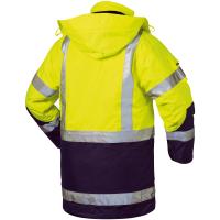 4in1 Warnschutz Parka JEKYLL gelb - Elysee®