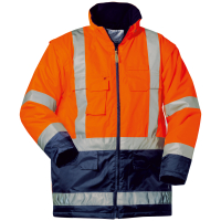 4in1 Warnschutz Parka WALLACE orange - Elysee®