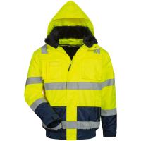 4in1 Warnschutz Pilotjacke ARTHUR gelb - Elysee®