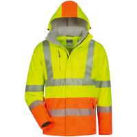 Softshell Jacke HENNING gelb/orange - Safestyle®