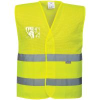 Warnschutz Netz Weste gelb - Portwest®
