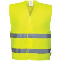 Warnschutz Weste C474 gelb - Portwest® L/XL