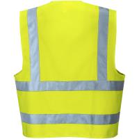 2 Reflex Warnschutz Weste C470 gelb - Portwest®