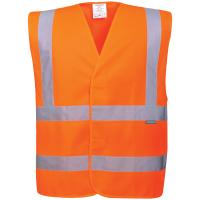 2 Reflex Warnschutz Weste C470 orange - Portwest®