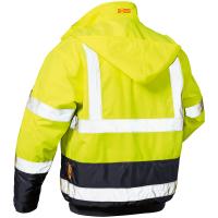 Warnschutz Pilotjacke AXEL gelb/marine - Safestyle®