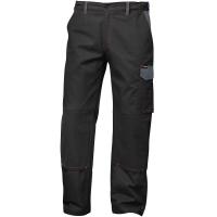 Twill Bundhose BRUGGE schwarz/grau - Craftland®