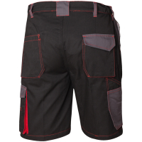 Twill Shorts MECHELEN schwarz/grau - Craftland®