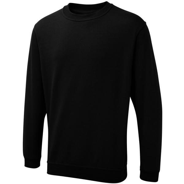 Arbeitspullover Olympic UX3 schwarz - Uneek