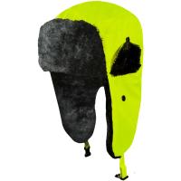 Wintermütze mit Ohrklappen gelb - Artmas