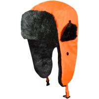 Wintermütze mit Ohrklappen orange - Artmas