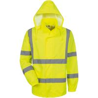 Warnschutz Regenjacke ONNO gelb - Safestyle®