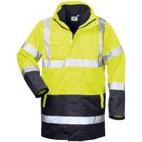 4in1 Warnschutz Parka SPENCER gelb - Safestyle®
