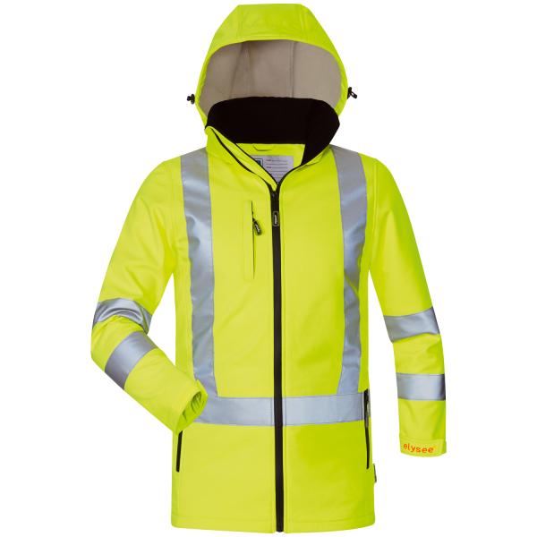Damen Warnschutz Softshell Jacke EMMA - Elysee®