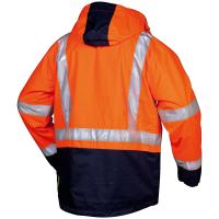 3in1 Warnschutz Jacke UDO orange - Safestyle®