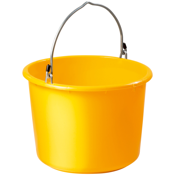 Eimer Anschlagbar gelb 20l
