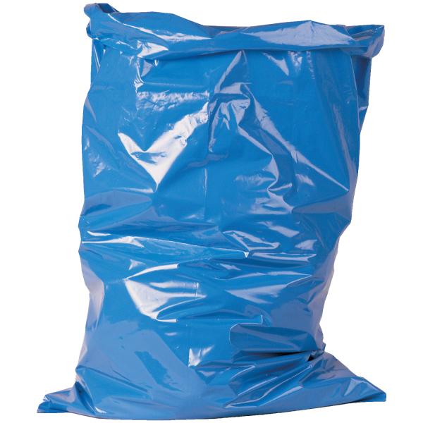 1 Rolle Abfallsäcke 70MY blau ca. 120 Liter