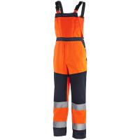 Warnschutz Latzhose BUFFALO orange/navy - Texxor®