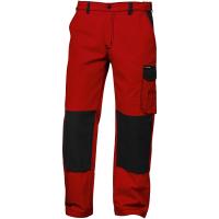Twill Bundhose GENT rot/schwarz - Craftland®