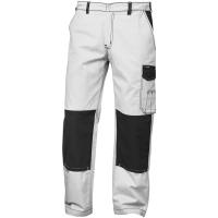 Twill Bundhose MONS weiß/grau - Craftland®
