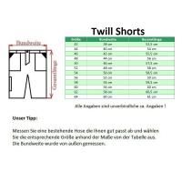 Twill Shorts OSTENDE grau/schwarz - Craftland®