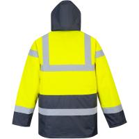 Warnschutz Jacke HiVis-Traffic gelb/marine - Portwest®