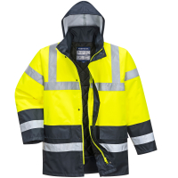 Warnschutz Jacke HiVis-Traffic gelb/marine - Portwest® L