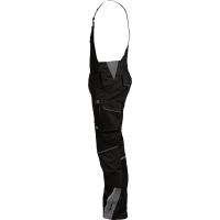 Latzhose Flex-Line schwarz/grau - Leibwächter®
