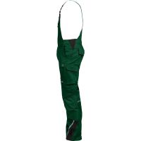 Latzhose Flex-Line grün/schwarz - Leibwächter®