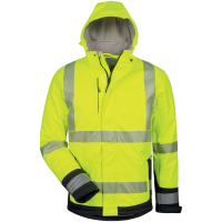 2in1 Softshell Winterjacke MELVIN gelb - Elysee®