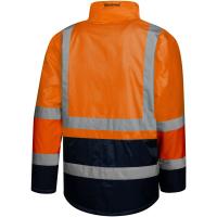 Winter Warnschutz Parka orange/marine - Safetytex®