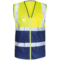 Warnschutz Weste BERTHEL gelb - Safestyle®
